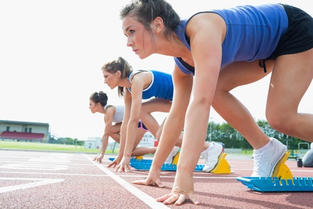Women ready to race on track field