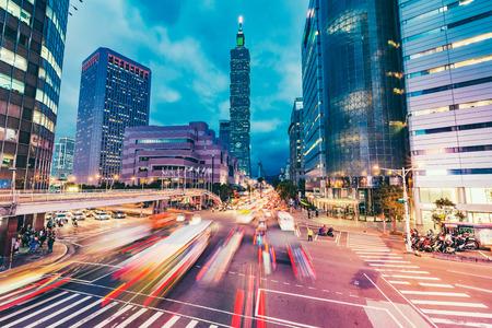 Photo pour Taipei, Taiwan city skyline - image libre de droit
