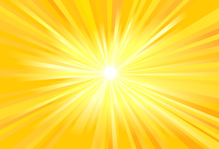 Illustration for Sun rays vector illustration - Royalty Free Image