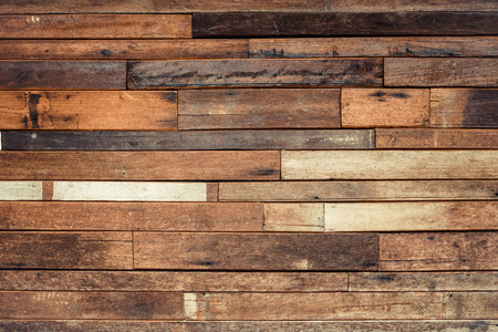 Photo for old wood plank wall background - Royalty Free Image