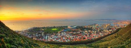 Foto de South Africa Capetown Skyline - Imagen libre de derechos
