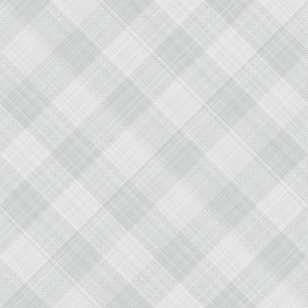 seamless texture of grey and white blocked tartan cloth