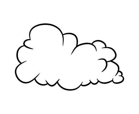 Illustration pour cartoon cloud vector symbol icon design. Beautiful illustration isolated on white background - image libre de droit