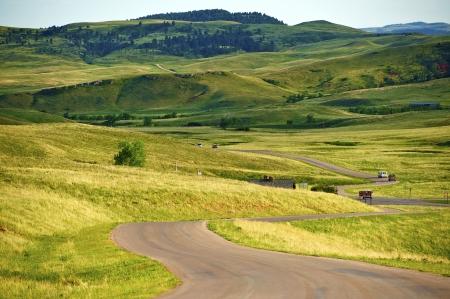 South Dakota Landscape - Custer Park near Rapid City. South Dakota Black HIlls. Nature Photo Collection.