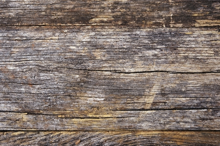 Photo for Aged Wood Plank Background. Aged Wood Closeup Backdrop. - Royalty Free Image