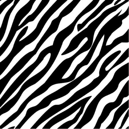Illustration for Zebra pattern seamless - Royalty Free Image