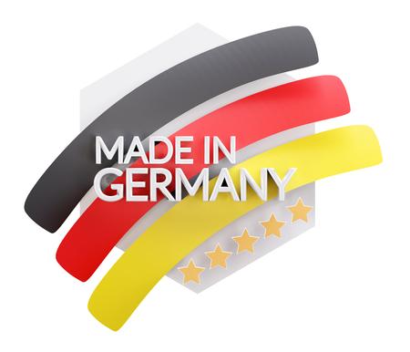 Photo pour made in Germany 3d-illustration - image libre de droit