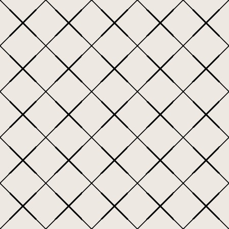 Photo pour Seamless pattern. Modern stylish texture. Repeating geometric tiles with dotted rhombus - image libre de droit
