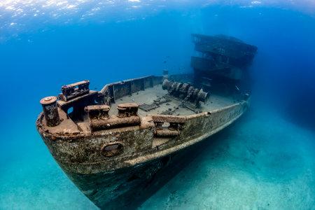 Foto de Underwater Wreck of the USS Kittiwake - Imagen libre de derechos