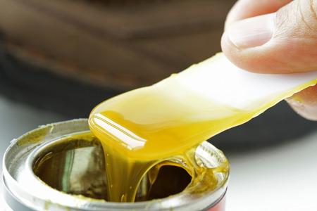 Photo pour Rubber Adhesive - image libre de droit
