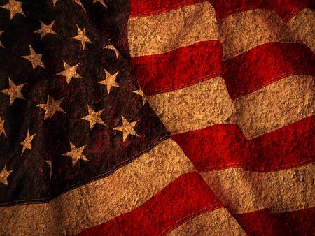 Foto de Grunge USA Flag - Imagen libre de derechos