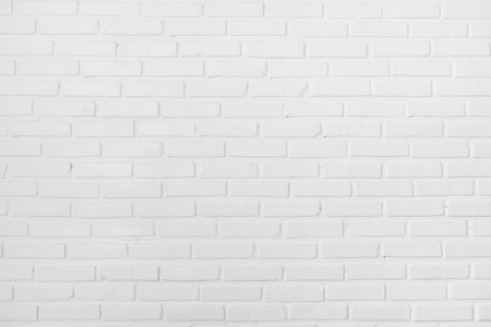 White clean clear brick wall texture