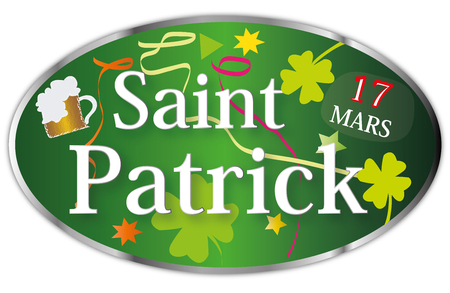 Illustration pour St. Patrick's Day March 17 - image libre de droit