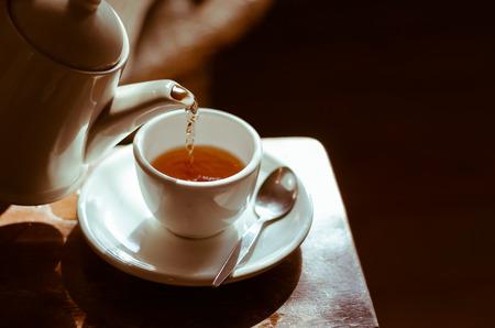 Foto de The Time of Tea Break. - Imagen libre de derechos
