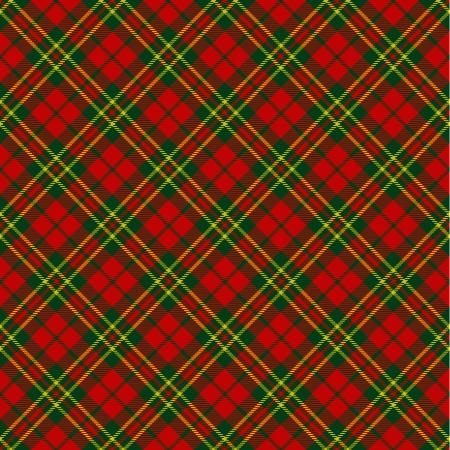 Photo for X-mas seamless tartan pattern - Royalty Free Image
