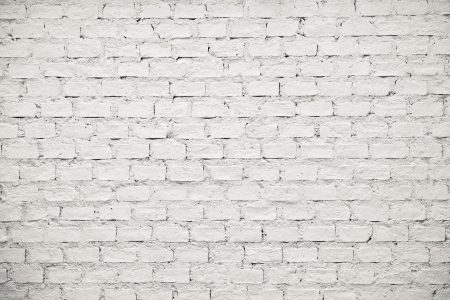 old white brick wall pattern mural