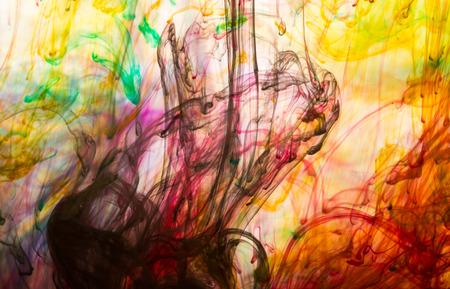 Photo pour Abstract and very colorful motion blur background - image libre de droit