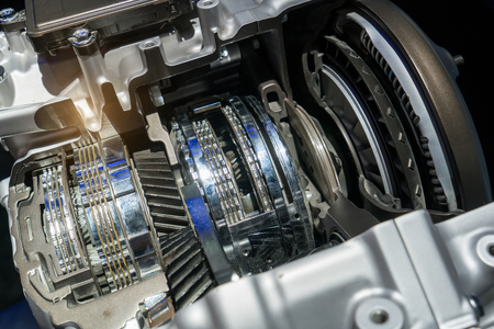 Photo pour Automotive transmission gearbox - image libre de droit