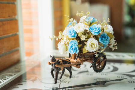 Photo for Beautiful flower decor vintage - Royalty Free Image