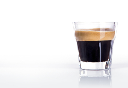 Photo pour Cup of espresso coffee - image libre de droit