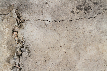 Photo for cracked concrete wall texture background - Royalty Free Image