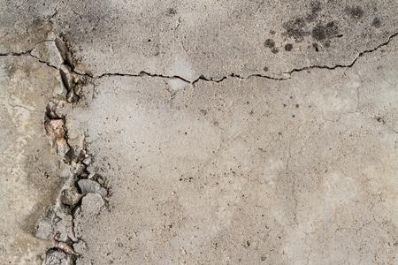 Photo pour cracked concrete wall texture background - image libre de droit