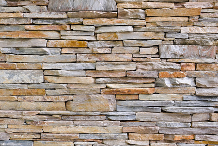 Foto de modern pattern of stone wall decorative surfaces - Imagen libre de derechos