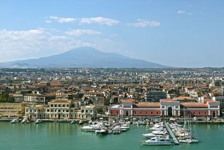 Foto de Catania, Sicily. ITALY. - Imagen libre de derechos