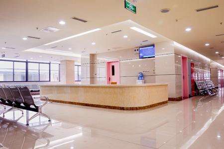 Foto de hospital interior - Imagen libre de derechos