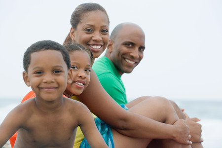 Photo for Family portrait - Royalty Free Image