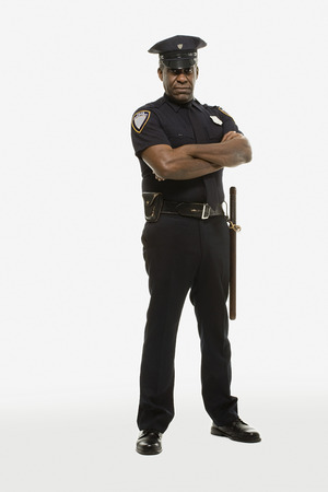Photo for Portrait of a police officer - Royalty Free Image