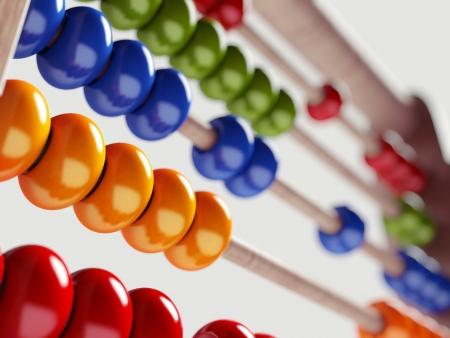 Foto de Colorful Abacus - Imagen libre de derechos