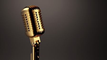 Photo for Vintage Microphone - Royalty Free Image