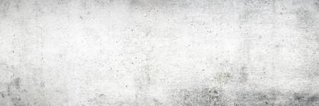 Photo pour Old white concrete wall texture with wood grain for background - image libre de droit