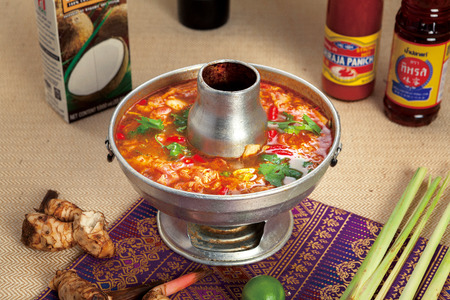 Photo for Tom Yam hotpot - Royalty Free Image