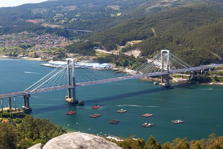 Photo for Bridge over the sea in Vigo - Royalty Free Image