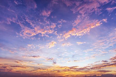 Foto de Colorful Sky Background - Imagen libre de derechos