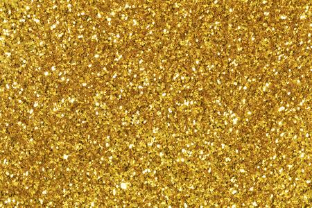 Foto de Background filled with shiny gold glitter. - Imagen libre de derechos