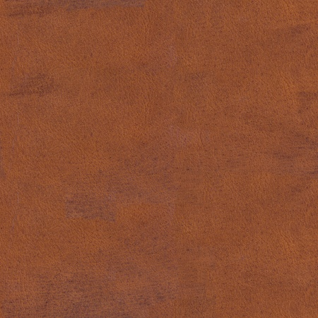 Photo pour Old brown scratched leather texture. Seamless square background, tile ready. High resolution photo. - image libre de droit
