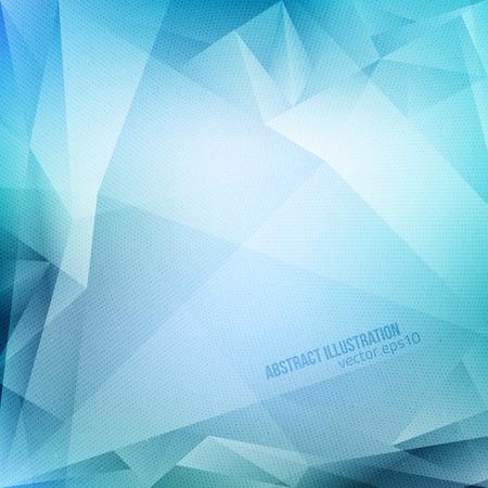 Illustration pour Abstract vector blue background with halftone texture.  - image libre de droit