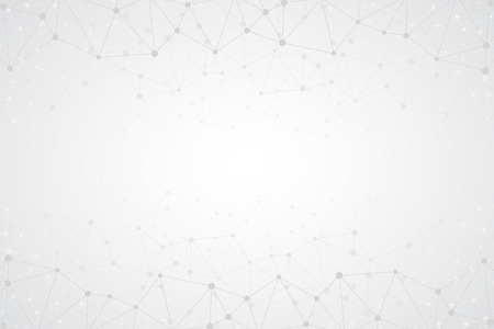 Illustration pour Abstract bright simple tech vector background. Connection structure. Polygonal vector abstract wallpaper. Abstract technology shapes. Vector science background - image libre de droit