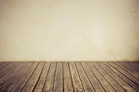 Foto de Old wall and floor. Copy space - Imagen libre de derechos