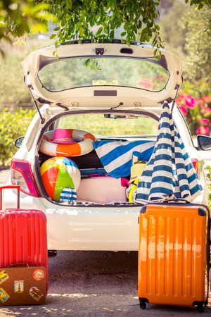 Foto de Summer vacation. Car travel concept - Imagen libre de derechos