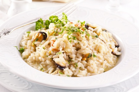 Risotto frutti the Mare