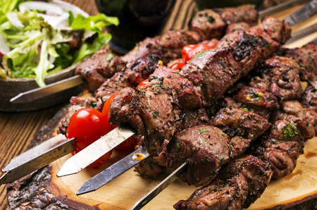 Photo for lamb kebab - Royalty Free Image
