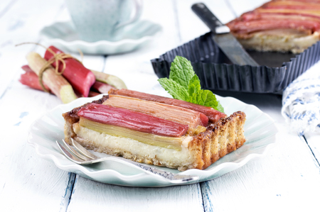 Photo for Rhubarb Tart - Royalty Free Image