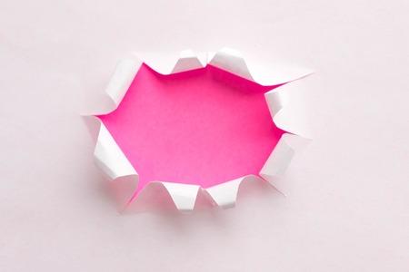 Photo pour Torn Real Paper Scraps minimal concept. - image libre de droit
