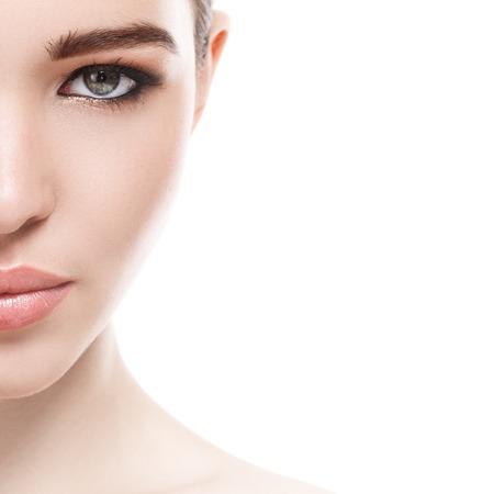 Foto de Beauty, spa. Attractive woman with beautiful face - Imagen libre de derechos