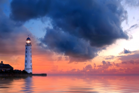 Photo for Lighthouse - Royalty Free Image