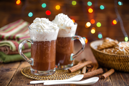Photo for hot chocolate - Royalty Free Image